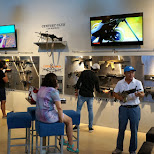 weapon selection at lock & load Miami in Miami, Florida, United States