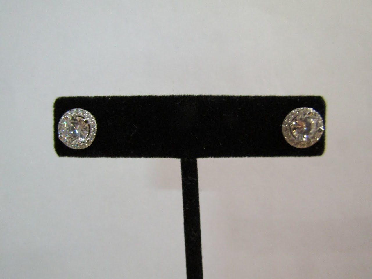 Sterling Silver & Stone Studs