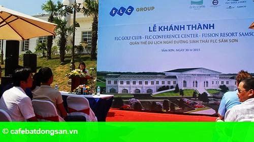 Hình 1: Quần thể du lịch FLC Sầm Sơn: Khánh thành các hạng mục đầu tiên nhân dịp 30/4