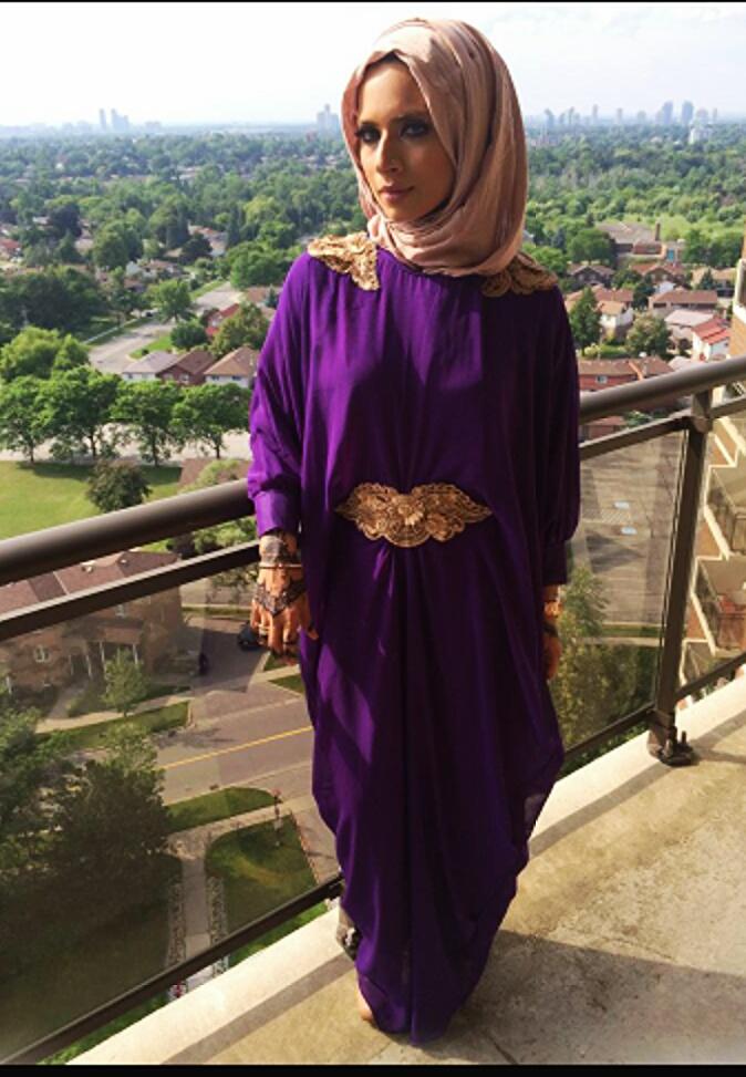 Hijabi Style Hijab Fashion Blog Beautiful Royal Purple