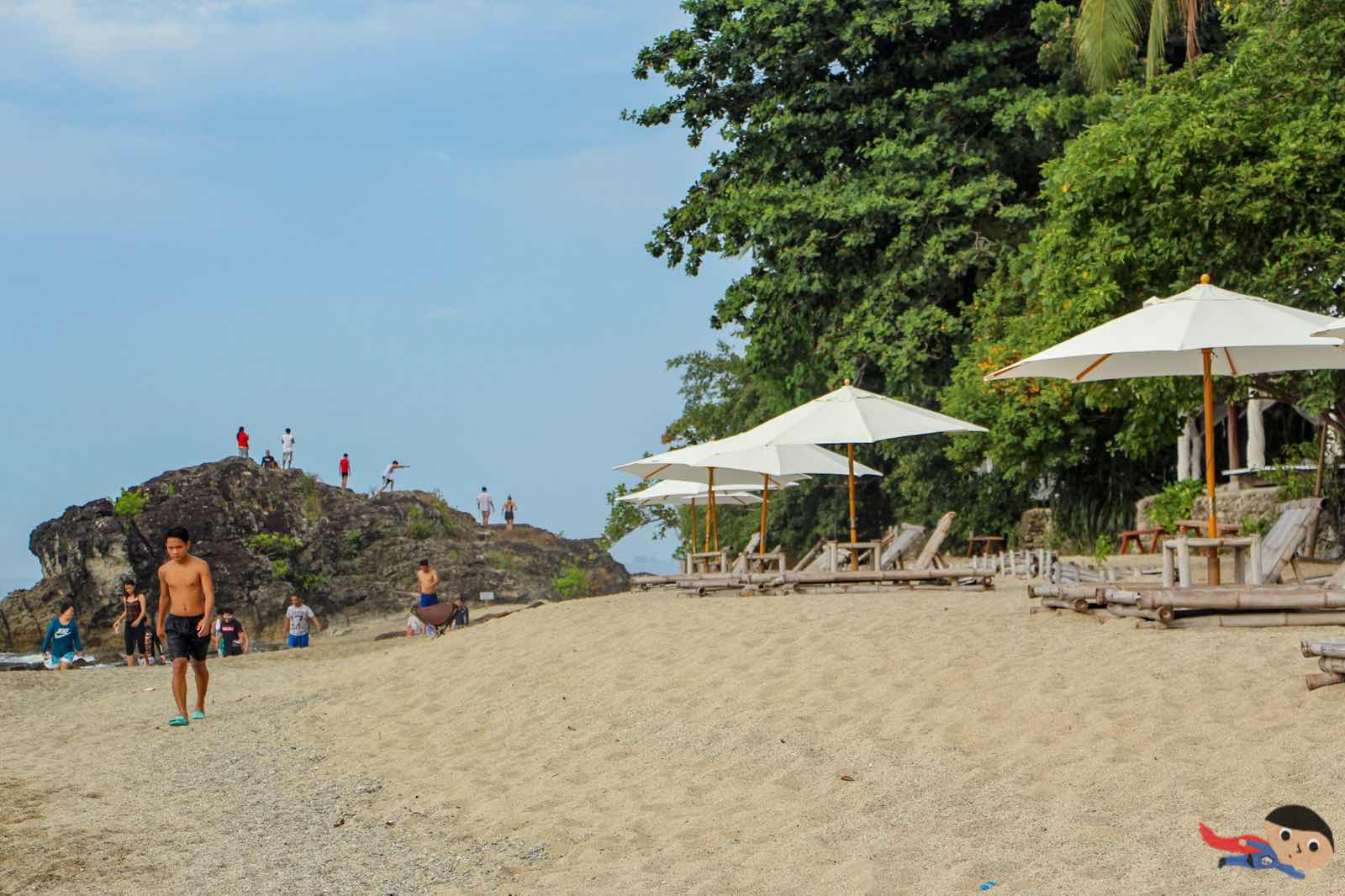Tayabas Bay - La Luz Resort in Batangas