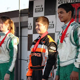 Rotax Pan Am Sat. Podium Cal Speed