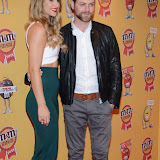 OIC - ENTSIMAGES.COM - Vogue Williams and Brian Nicholas McFadden at the M & M  party to celebrate a spoof election of its confectionary characters.  M&M's World, Leicester Square, London, 14th April 2015   Photo Mobis Photos/OIC 0203 174 1069