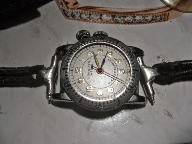 1935 LONGINES WEEMS ORIGINAL 1935 LEATHER METAL ROP STRAP - IMG_0998.JPG