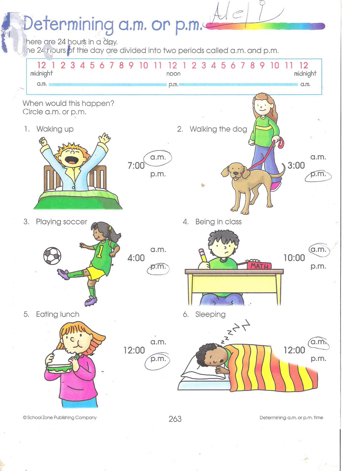 3rd Grade Elapsed Time Worksheet Printable