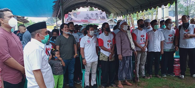 Program Ini Kembali Ditawarkan Mardani di Kampanye SHM - MAR, Warga Koor Setuju