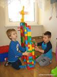Grudzień 2016 - Zabawy konstrukcyjne w oddziale przedszkolnym