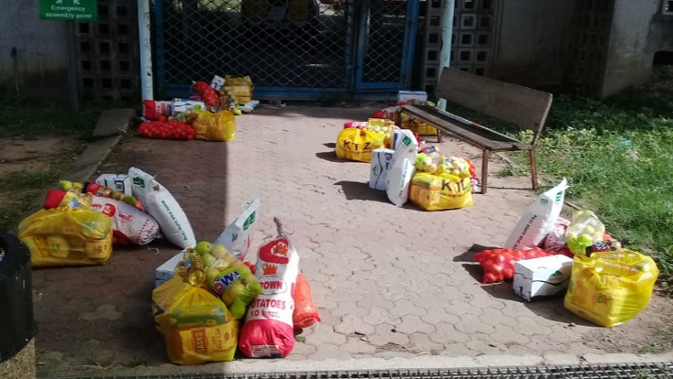 South African lockdown food donations