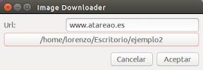 Descargar todas las imágenes de una web con ImageDownloader - datos