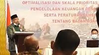 Camat Kota Juang Kembali Buka Bimtek Di Bandung, Kepala DPMG-PKB Bireuen Dukung Penuh