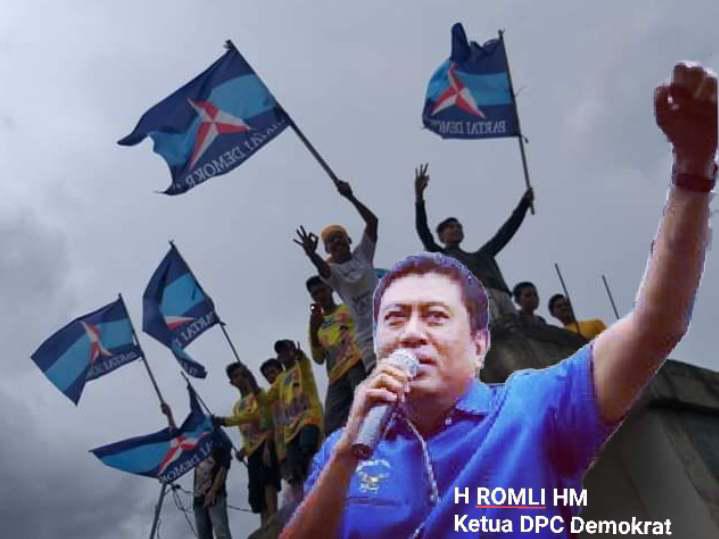 """H.Romli Ketua DPC Partai Demokrat """"Saya Akan Hadang Yang Usik AHY"""""""