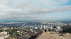 Walking up #RunyonCanyon right after a light rain was a great idea, if I do say so myself. I could actually find parking, the ground wasn't too wet, the park wasn't crowded, the air felt great, and the visibility was clear. #hike #hiking #Hollywood #LosAngeles #health #urbanpark 4/25/15