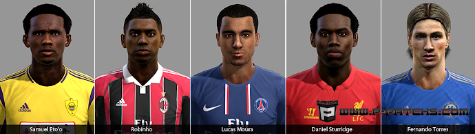 Facepack Internacional - PES 2013