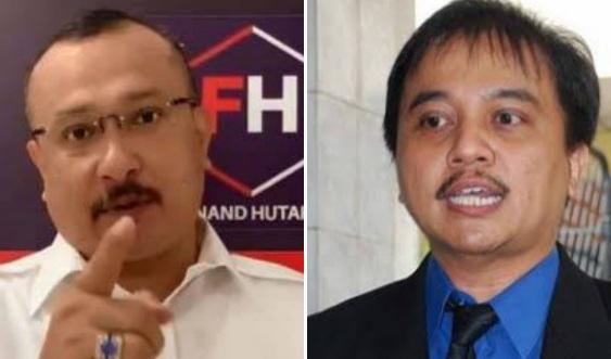 Sentil Roy Suryo, Ferdinand: Mantan Menteri Koq Kualitas Logikanya Jadi Sebobrok Ini?