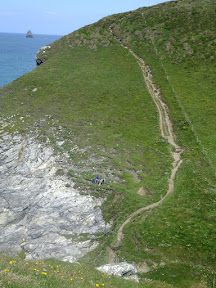 View of path on northern side of Jacket's Point