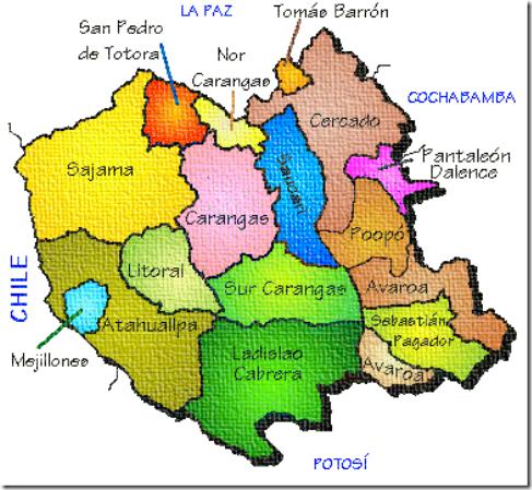 Provincia Eduardo Abaroa (1903): departamento de Oruro (Bolivia)