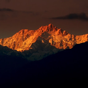 Kanchenjunga by Saikat Datta - Landscapes Mountains & Hills