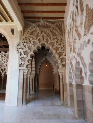 Part of the Aljaferia palace, Zaragoza