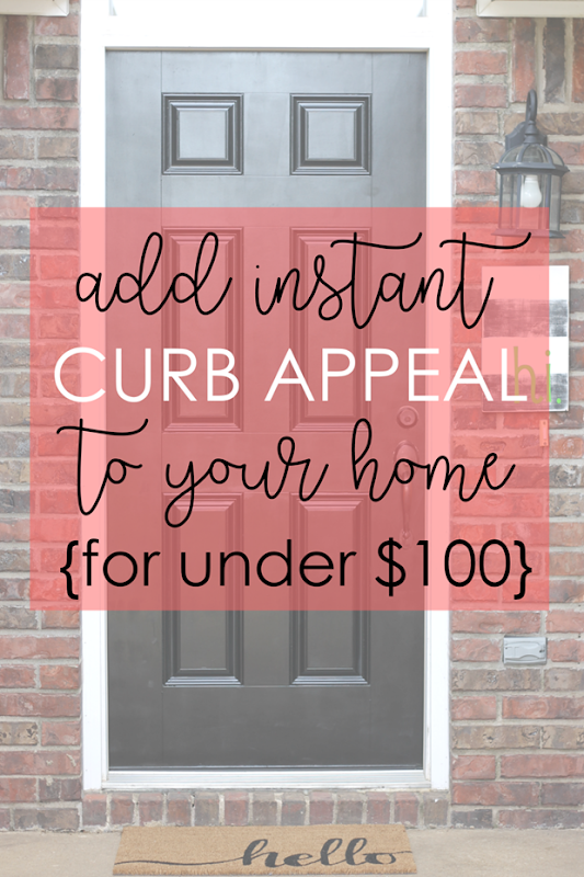 Add Instant Curb Appeal to Your Home for Under $100 at Life Storage Blog