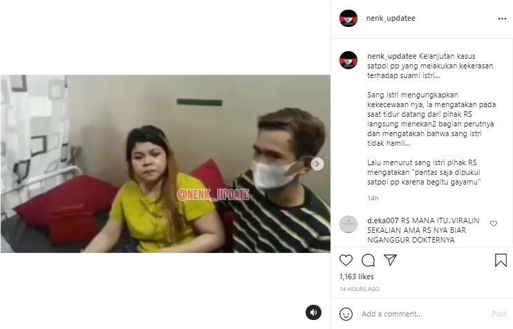 Wanita Yang Dianiaya Satpol PP Ungkap Dokter di RS Sebut Dirinya Pantas Dipukul