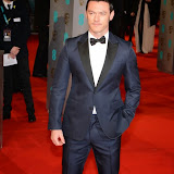 OIC - ENTSIMAGES.COM -  Luke Evans at the EE British Academy Film Awards (BAFTAS) in London 8th February 2015 Photo Mobis Photos/OIC 0203 174 1069