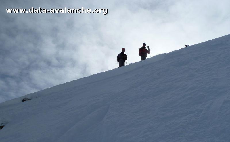 Avalanche Maurienne, secteur Aiguilles d'Arves, Pointe de Pierre Fendue - Photo 1