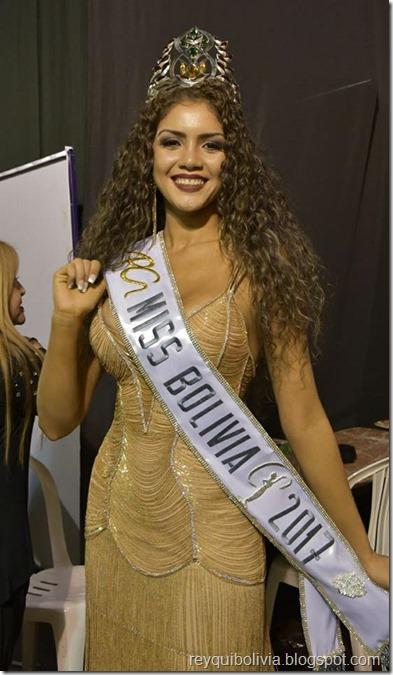 Gleisy Vera Noguer es Miss Bolivia 2017