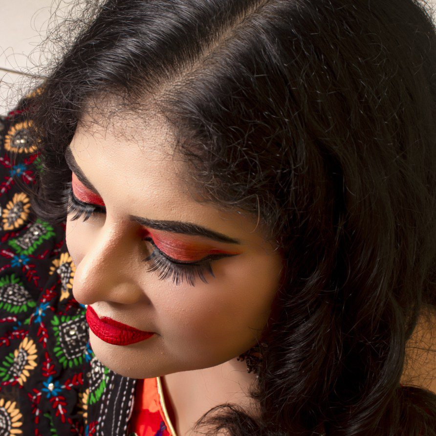 Festive look, ethnic, makeup