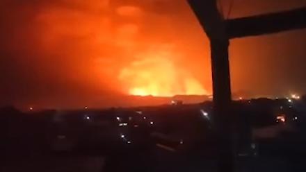 Ηφαίστειο Νιαμουραγκίρα : Μετά το Νιραγκόνγκο, εξερράγη και δεύτερο ηφαίστειο στο ανατολικό τμήμα του Κονγκό