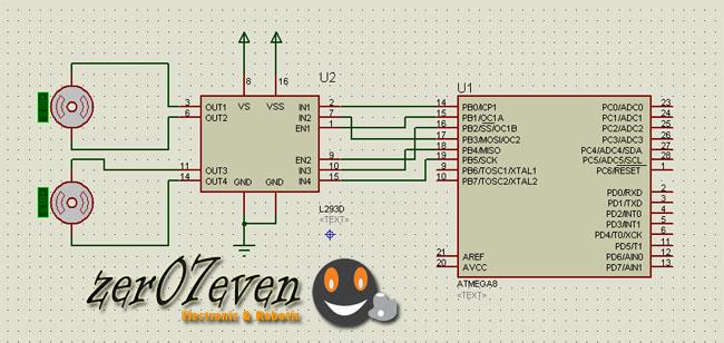 kontrol motor dengan pwm