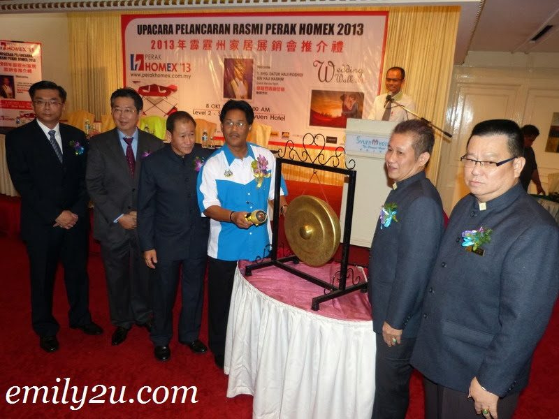 Launch of Perak Homex & Wedding Walk 2013