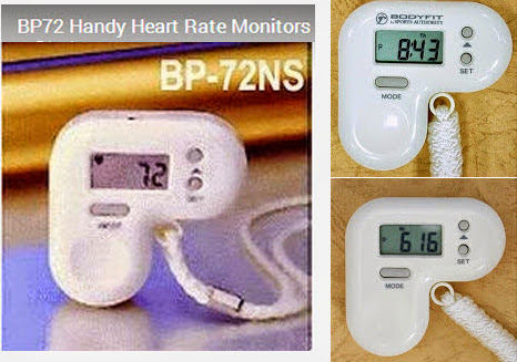 BP-72 Handy Heart Rate Monitors with Large LCDs (Pulse, Stopwatch, Clock)Best for Promotion & Gift. Please feel free to contact us and visit our website of www.pedometer365.com