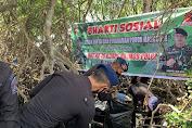 Sambut HUT Brimob ke 76, Batalyon C Pelopor Bone Gelar Baksos Bersihkan Pantai Dan Tanam Mangrove