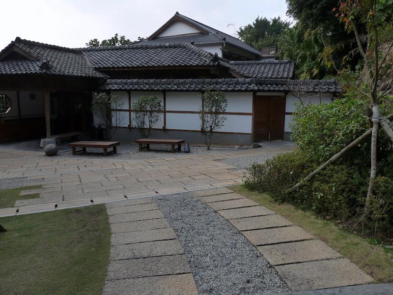 TAIWAN.Taipei .Maison japonaise vers Beitou et Musée National de Taipei à côté du Peace park - P1060304.JPG