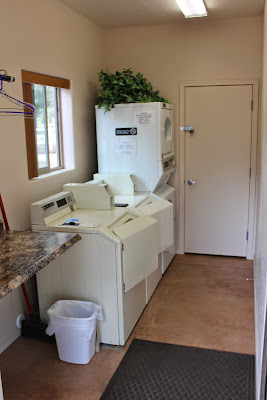 We even have a laundry facility!
