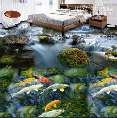3d tiles bedroom image jbbk education hub for Carpe koi aquarium 300 litres