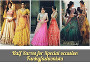30+Top Trending Designer Half Saree For Special Occasion