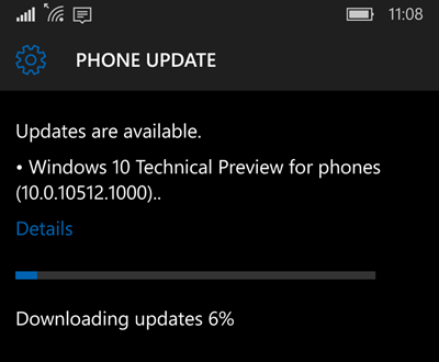 Windows 10 Technical Preview build 10152 for phones available now (www.kunal-chowdhury.com)
