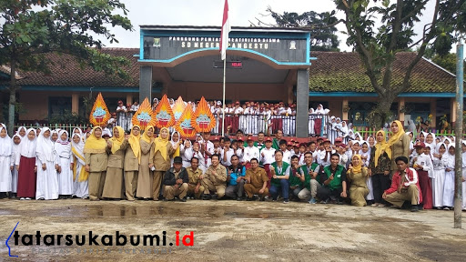 PT GSI II Sukalarang CSR School visit 2019 / Foto : Dian Syahputra Pasi (15/1/2019)