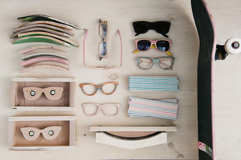 *回收滑板手作太陽眼鏡:SK8 SHADES環保時尚! 1