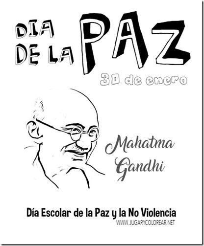 Día Escolar de la Paz y la No Violencia43 gandhi