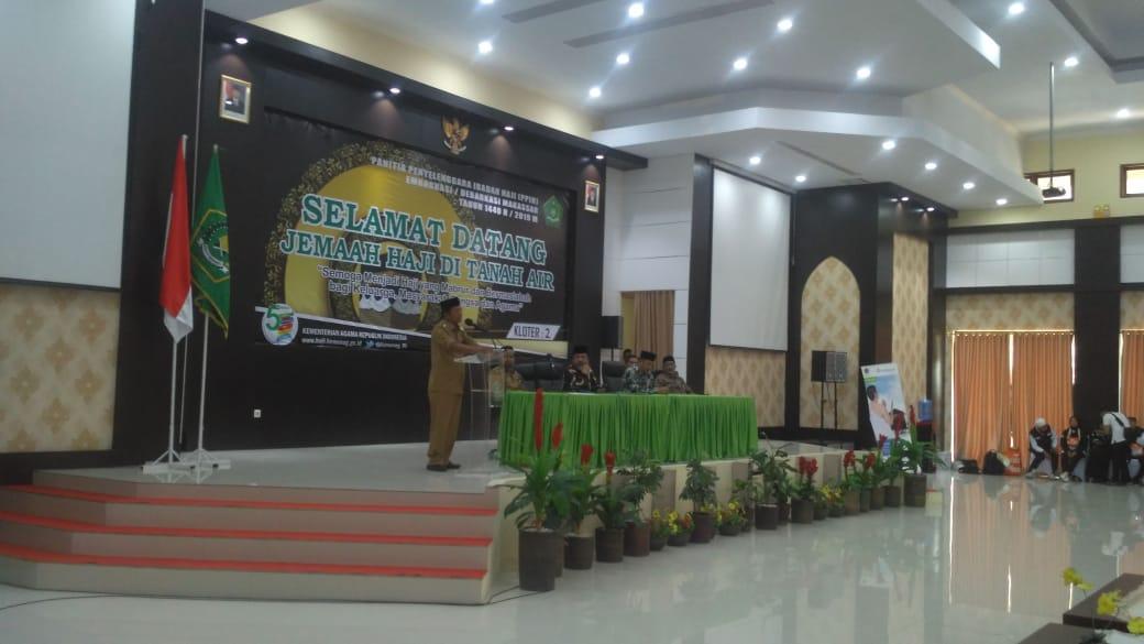 Jamaah Haji Soppeng di Jadwalkan Tiba Pukul 18.00 WITA, di Lapangan Gasis