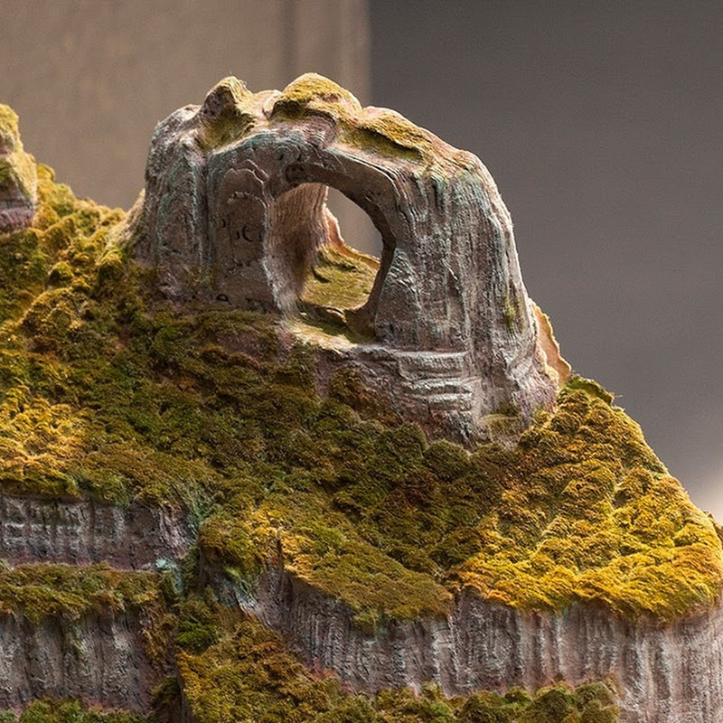 Guy Laramee's Latest Book Carvings of Brazilian Mountains
