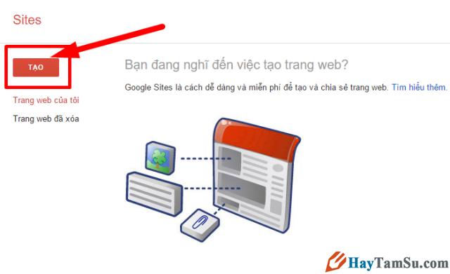 Google Sites là gì? Hướng dẫn cách tạo website miễn phí với Google Sites + Hình 3
