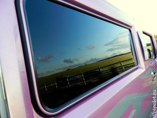 Розовый лимузин Хаммер