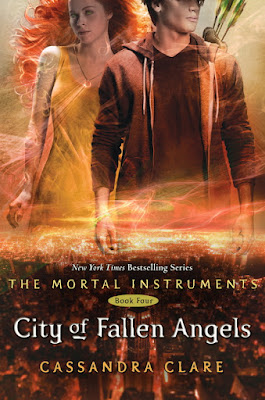 Series Review: City of Fallen Angels (The Mortal Instruments, Book #4), By Cassandra Clare Cover art