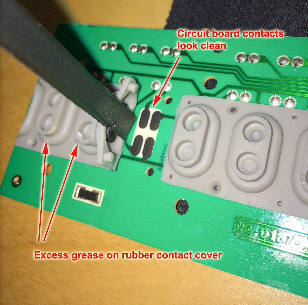 Nord User Forum View Topic Fixing Dead Keys On My Piano 2 Ha88 Fix Circuit Board Image