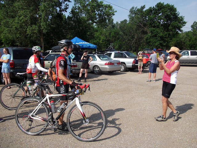Barry CP1 at Dirty Kanza