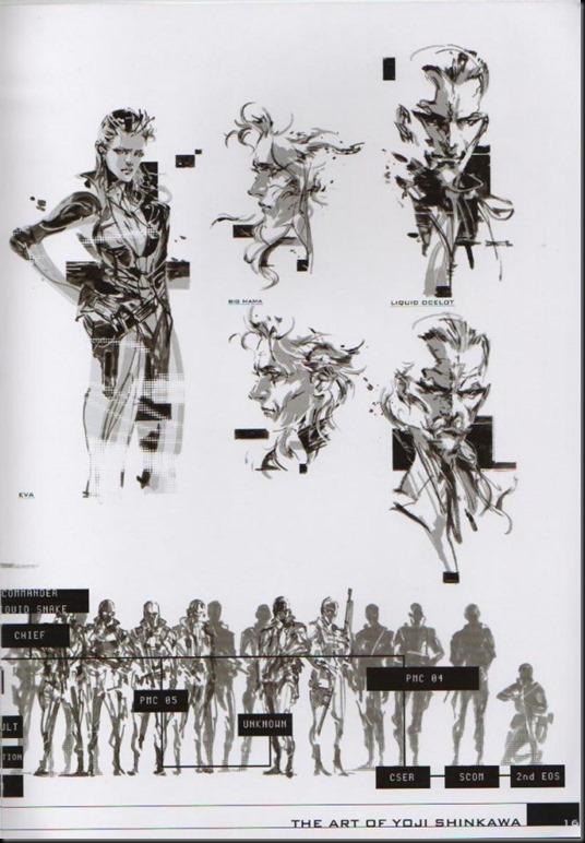 The Art of Yoji Shinkawa 1 - Metal Gear Solid, Metal Gear Solid 3, Metal Gear Solid 4, Peace Walker_802479-0020