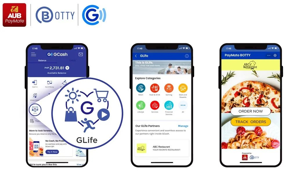 PayMate BOTTY and GLife partnership